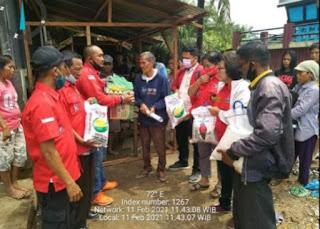 DPC PBB Kabupaten Batu Bara Bantu Lelaki Tua Sebatang Kara