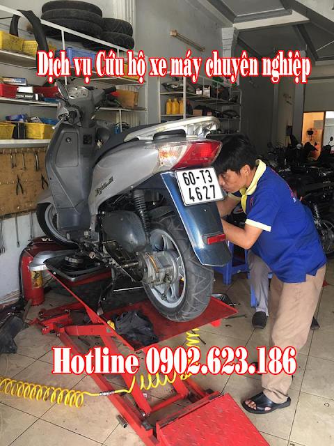 Cứu hộ xe máy Honda Dylan chuyên nghiệp tận nơi tại TpHCM
