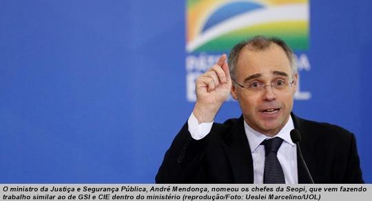 www.seuguara.com.br/André Mendonça/ministro da Justiça/antifascistas/