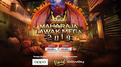 Senarai Peserta Maharaja Lawak Mega 2019 (MLM)