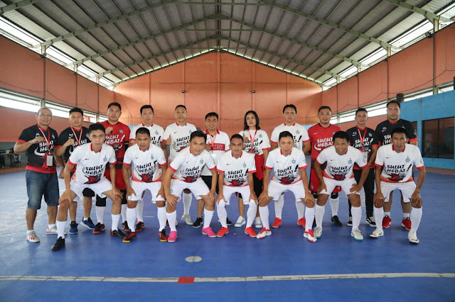 Kandaskan Tim Futsal Babel, Tim Futsal Sulut Lolos ke Babak 16