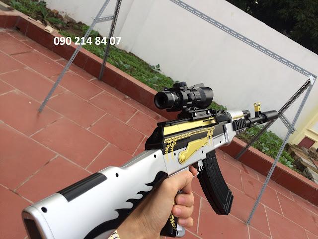 Súng mô hình Pubg đạn thạch AKM _4