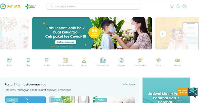 SehatQ Situs Kesehatan Online dengan Fitur dan Layanan Terbaik yang Komplit