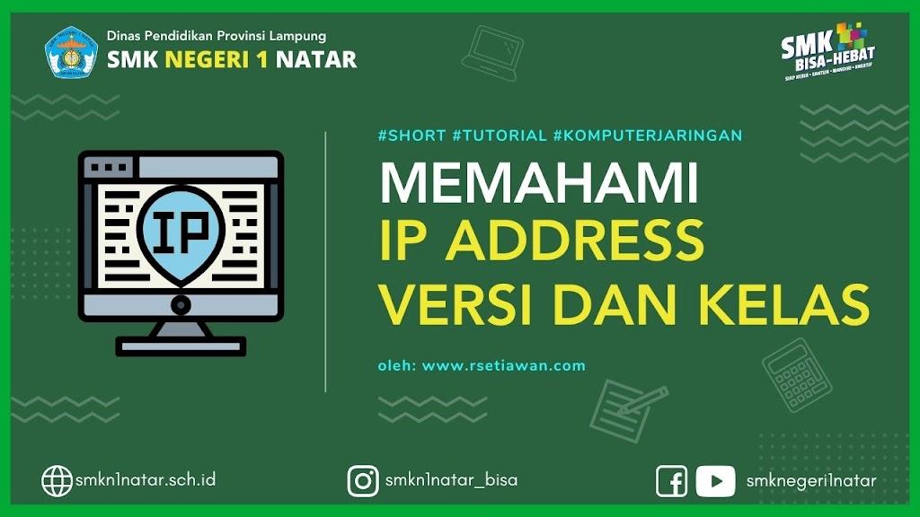 Pengertian IP Address adalah