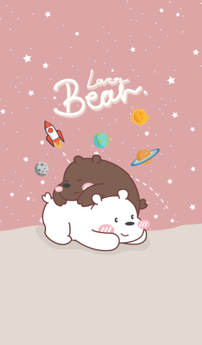 Bear Lover (Pink Galaxy ver.)