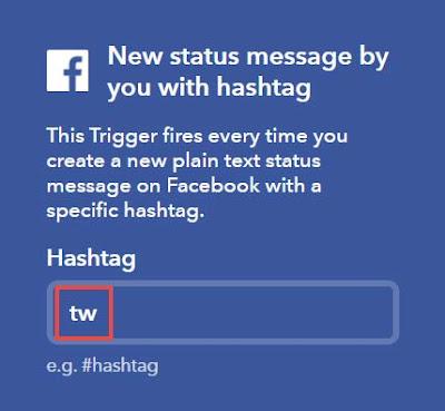 hashtag-ifttt