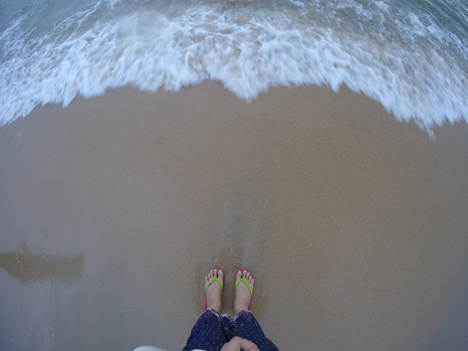 Pantai Bisikan Bayu Senok Warni Blue Sands Yuna
