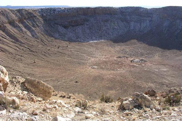 Cratera de meteoro – Arizona - EUA