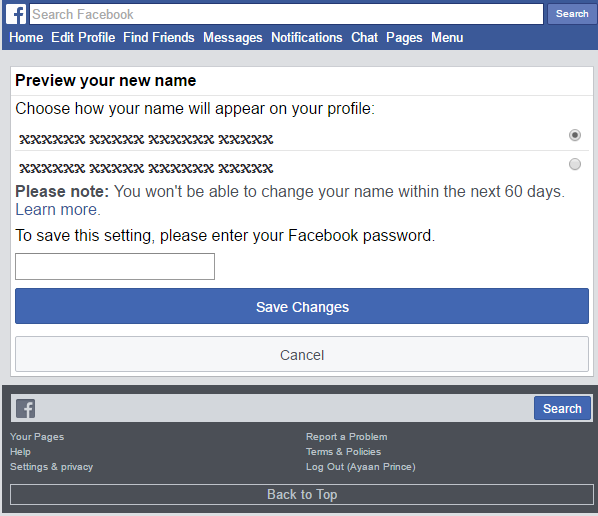 How To Create Cross Ghost Name Facebook Account 2018 | Technical Sarmad