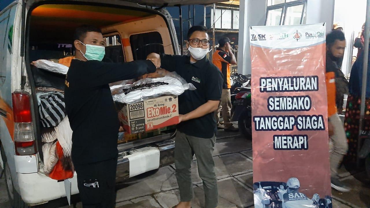 TASK Hidayatullah Kirim Kembali Logistik Ke Merapi