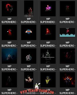 Wallpaper Super Hero Keren Terbaru
