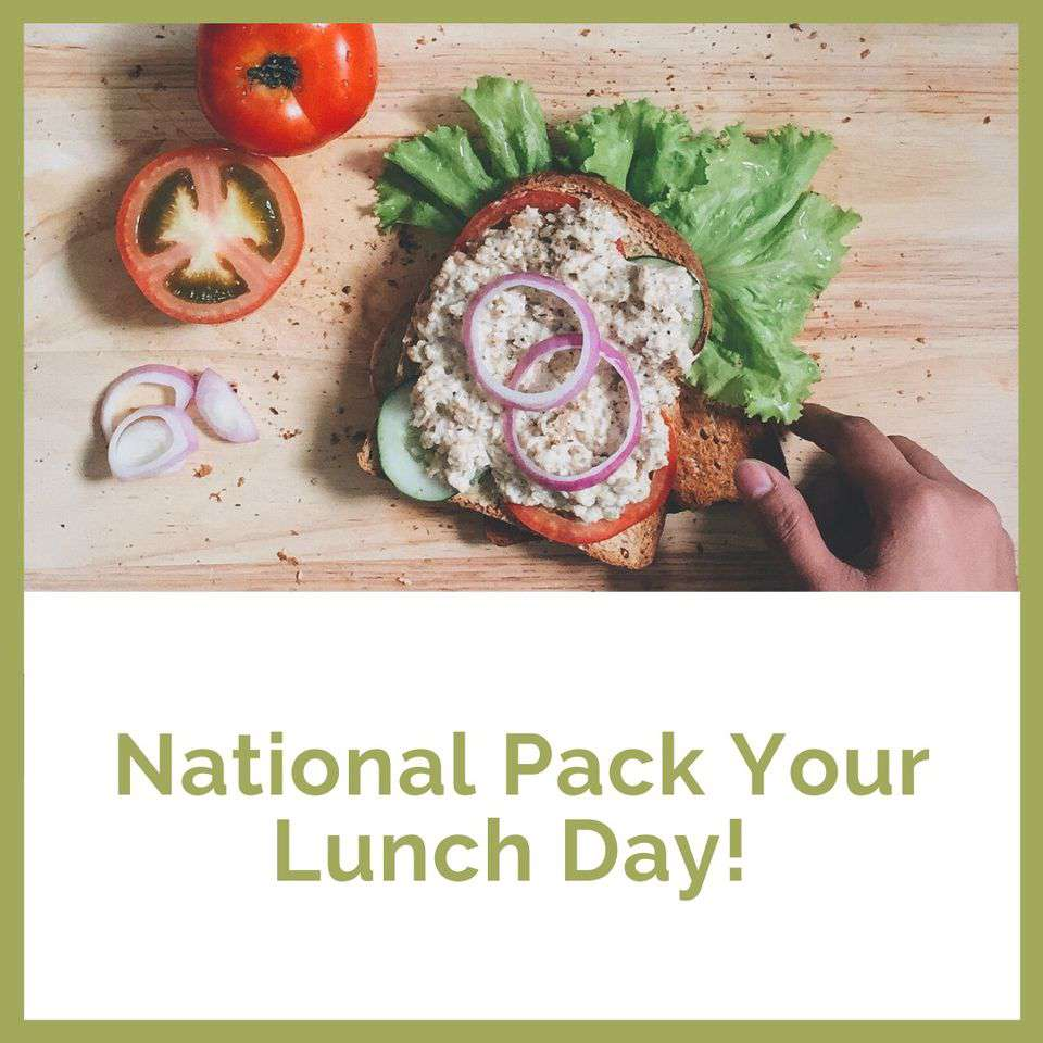 National Pack Your Lunch Day Wishes Awesome Picture