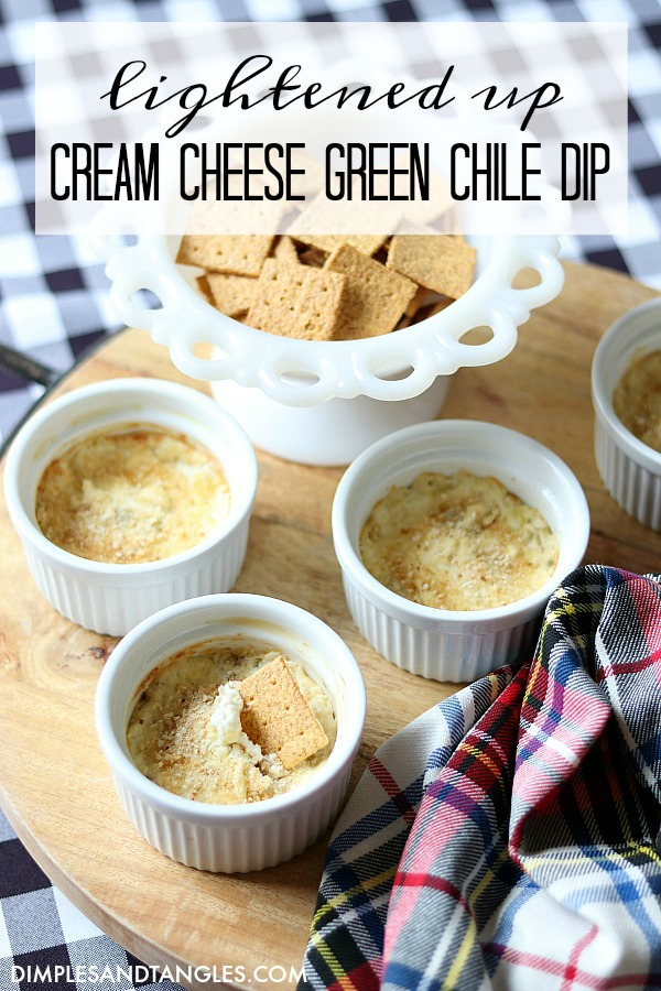 party food, superbowl recipe, low fat appetizer, green chile recipe, cream cheese recipe