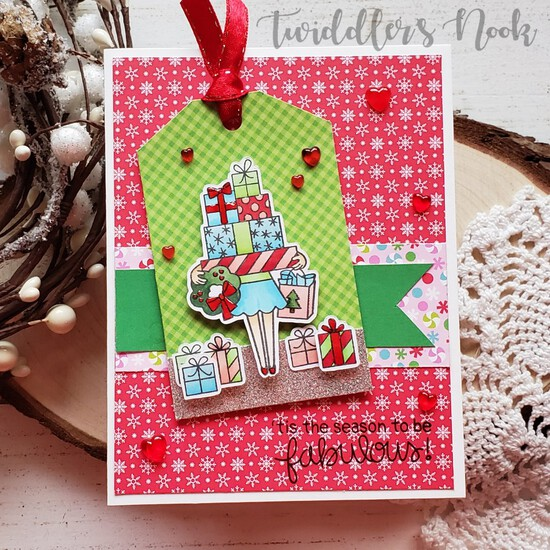 'Tis the season to be Fabulous by Amanda features Christmas Haul by Newton's Nook Designs; #newtonsnook