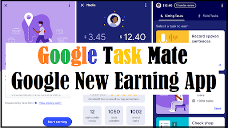 Earn Free Rs500 Daily from Google? | Google New Earning App | Google Task Mate | Invitation Code ?