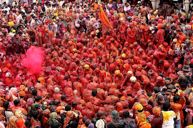 THE FAMOUS LATTHMAR HOLI OF BARSANA INDIA2020