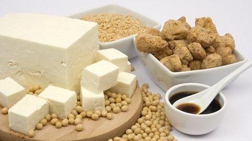 produtos soja, tofu