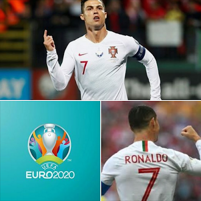 #Cristiano #Ronaldo seals #Portugal's crucial 2-0 win on #Luxembourg's #potato pitch! #Euro2020 sealed! ✔ 99 int. goals ✔ 11 goals in 8 matches ✔ 5th #Euro #finals appearance booked! ✔ En route (54) to taking over #Buffon (58) as the player with the most #Euro #Championship caps...#CR7.