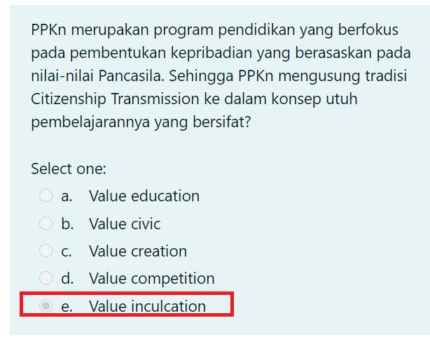 gambar kunci jawaban reviu pembelajaran 1 ppkn seri pppk