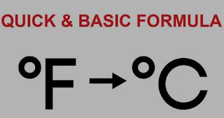Temperature Conversion - How to Convert Fahrenheit to Celsius