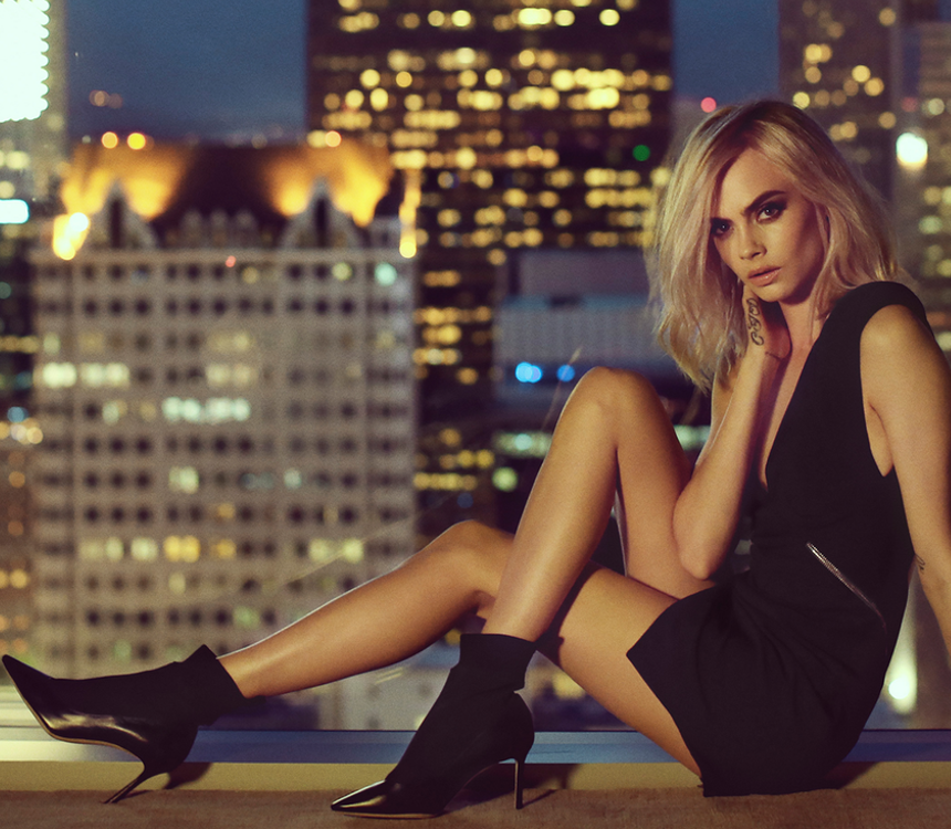CARA DELEVINGNE STARS IN THE JIMMY CHOO CRUISE '18 COLLECTION