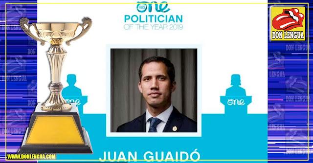 """Juan Guaidó arrasa con los premios """"One Young World"""" en su categoría"""