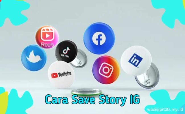 Cara save story ig / download story instagram online dengan mudah