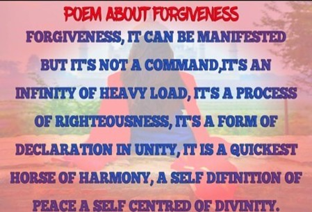 Forgiveness poem_ Inspirational poem for forgiveness