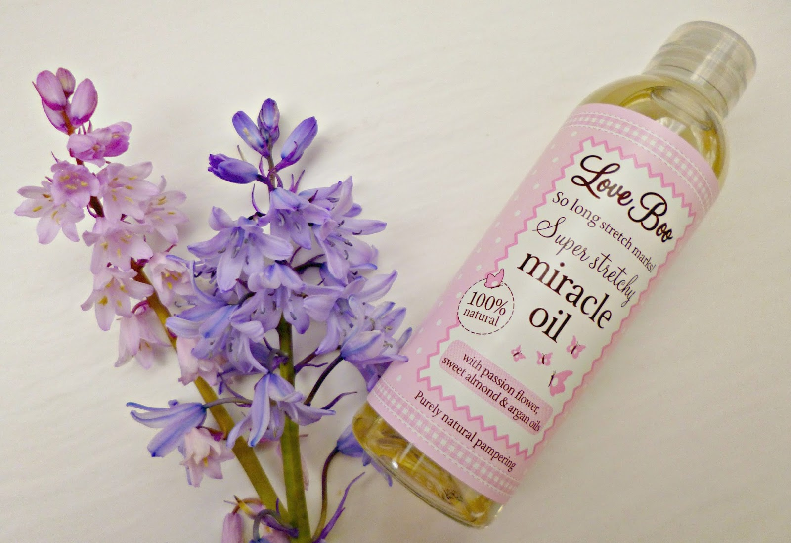 Mum and baby skincare: Love Boo super stretchy miracle oil