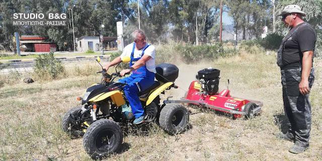 Νέα μηχανήματα περιποίησης πρασίνου στο Δήμο Άργους Μυκηνών