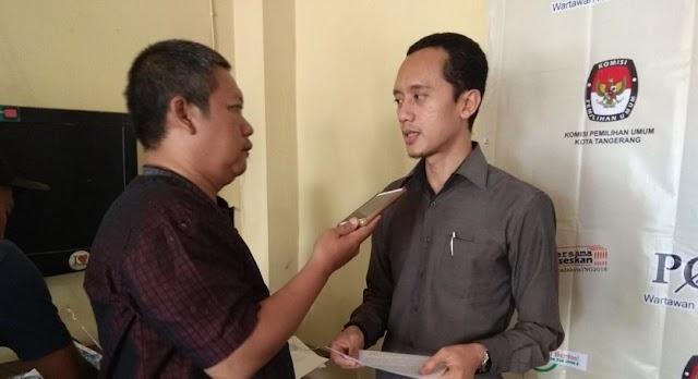 Meski Hanya Satu Pasang, KPU Kota Tangerang Tetap Laksanakan Pilkada 2018