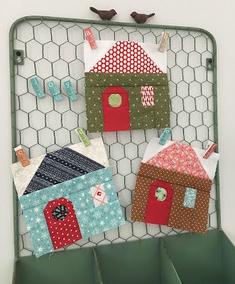 Quilt Inspiration Free Pattern Day House Quilts