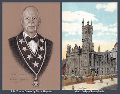 R.W. Thomas Gamon. Grand Master. Grand Lodge of Pennsylvania. by Travis Simpkins