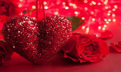 صور ورد وقلوب حمراء جميلة