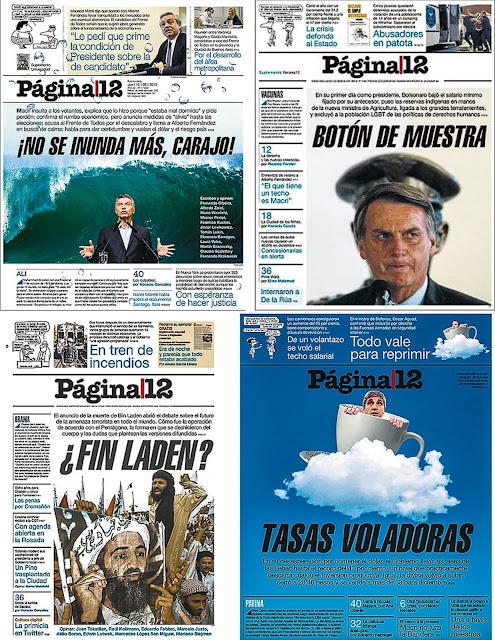 Jornal Página 12, Argentina