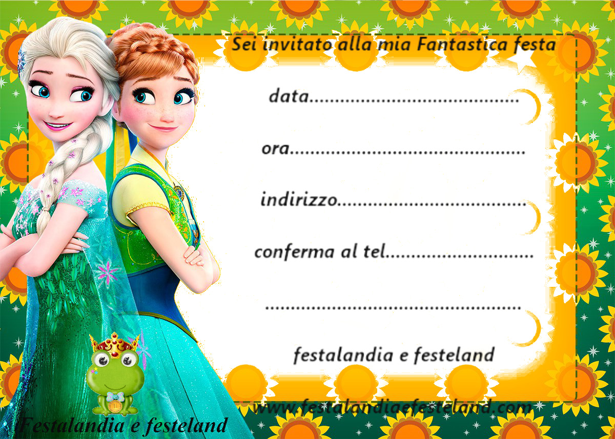Favorito Festalandia e Festeland: FROZEN PARTY GO91