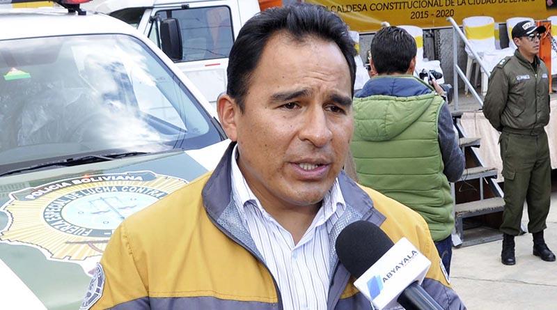 Secretario Municipal de Seguridad Ciudadana, Dorian Ulloa