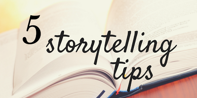 5 storytelling tips to connect with your audience