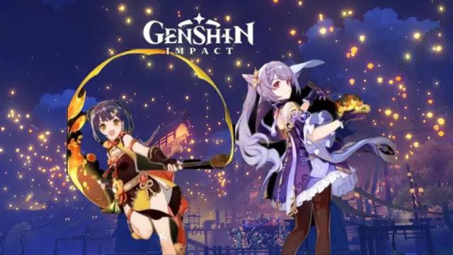 Genshin Impact Keqing and Ningguang skins
