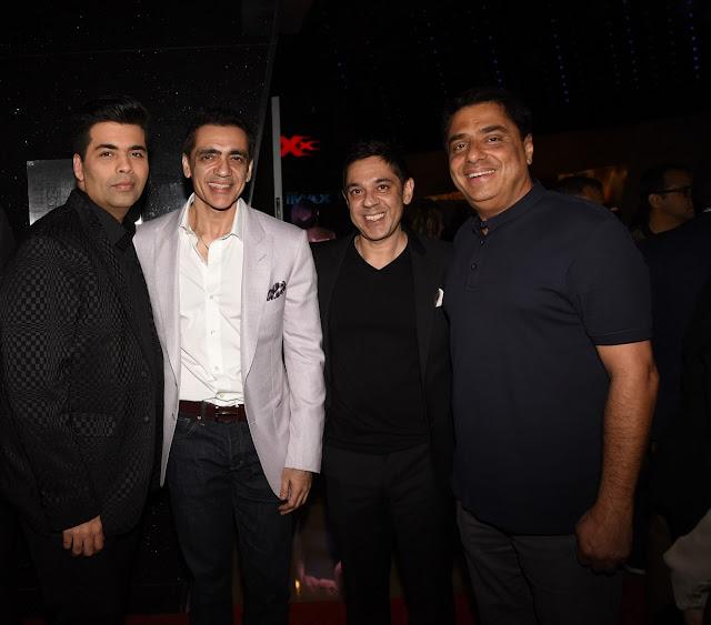 Karan Johar, Ajay Bijli, Sanjeev Kumar Bijli and Ronnie Screwala