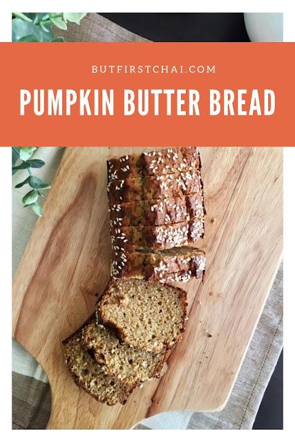 Pumpkin Butter Quick Bread