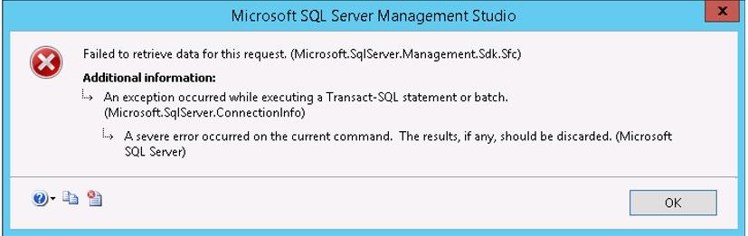 Sql server replication error log table