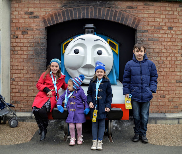 A family fun day at Drayton Manor Theme Park