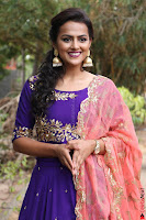 Actress Shraddha Srinath in Purple Chania Choli Cute Pics ~  Exclusive 65.jpg