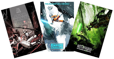 Star Wars: The Original Trilogy Screen Print Series by Jock x Mondo