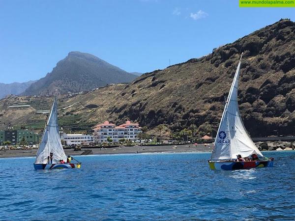 `Breñusca´ vence en la V Regata Día de Canarias de Vela Latina celebrada en Tazacorte