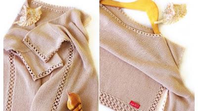 Conectar-Unir piezas crochet con punto calado