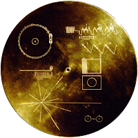 Voyager 1 space probe's golden record