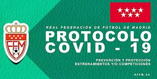 Protocolo anti Covid fútbol