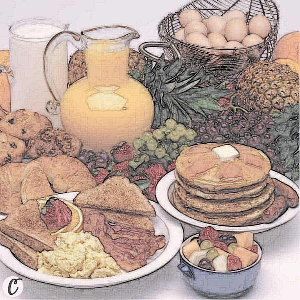 Hot 🥓 Breakfast 🥚
